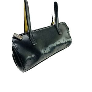 Mondani Black Handbag Small Double Strap